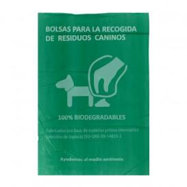 Worki dla odchody psów 100% Biodegradowalny 18x26cm (100 Sztuk)