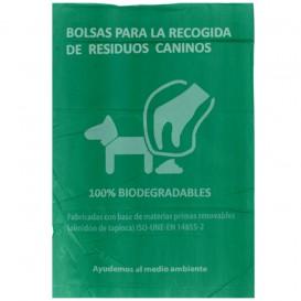 Worki dla odchody psów 100% Biodegradowalny 20x33cm (3000 Sztuk)
