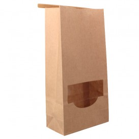Paper Food Cone Natural 24cm 140g (500 Units)