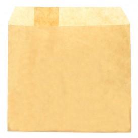 Paper Fries Envelope Grease-Proof Kraft 12x12cm (3000 Units)