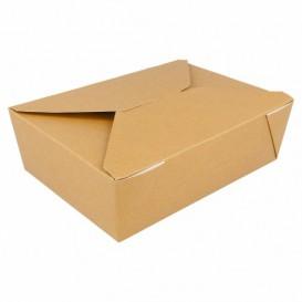 "Paper Take-out Container ""American"" Black 1,13x0,90x0,64cm 600ml (200 Sztuk)"