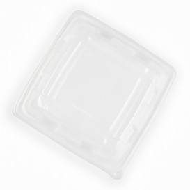 Plastic Dome Lid PP for Container 23x23cm (50 Units)