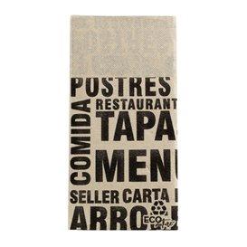 Paper Napkin Double Point Cream 1/8 40x40cm (30 Sztuk)