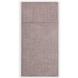 Serwetki Zestaw Sztućców Papierowe Dżins Brązowe 30x40cm (30 Sztuk)