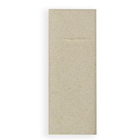 Serwetki Zestaw Sztućców Papierowe Dżins Kremowy 30x40cm (30 Sztuk)