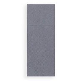 Serwetki Zestaw Sztućców Papierowe Szare 30x40cm (30 Sztuk)