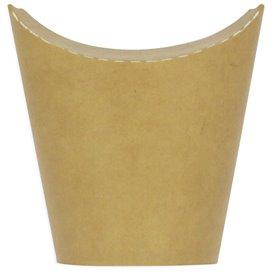 Kubki Tłuszczoodporny Kartonowe Kraft z Klejącą 14Oz/420ml (1000 Sztuk)