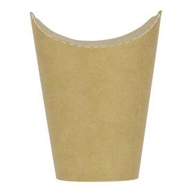 Kubki Tłuszczoodporny Kartonowe Kraft z Klejącą 16Oz/480ml (1000 Sztuk)