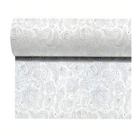 """Obrus w Rolce z Włókniny 1,2x50m """"Mandala"""" Szary 50g/m² P40cm (1 Sztuk)"""