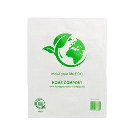 Worki Mercado 100% Biodegradowalny 16x24cm (100 Sztuk)