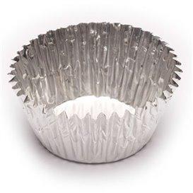Formy Cukiernicze Aluminowe 55x44x27mm (100 Sztuk)