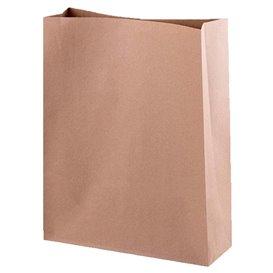 Torby Papierowe bez Uchwytów Kraft 44+15x40,5cm (250 Sztuk)