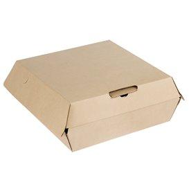Pudełka na MenuBox Tektura Kraft 20x20x8,5cm (110 Sztuk)