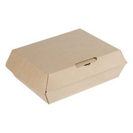 Pudełka na MenuBox Tektura Kraft 20x15x7cm (50 Sztuk)