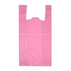 """Plastikowa torba na koszulki 70% z Recyklingu """"Colors"""" Różowy 42x53cm 50µm (1.000 sztuk)"""