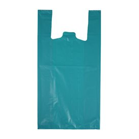 """Plastikowa torba na koszulki 70% z Recyklingu """"Colors"""" Niebieski 42x53cm 50µm (40 sztuk)"""