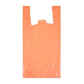 """Plastikowa torba na koszulki 70% z Recyklingu """"Colors"""" Pomarańczowa 42x53cm 50µm (40 sztuk)"""