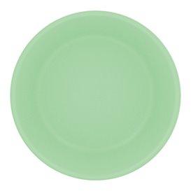 Talerz Plastikowe Głębokie Durable PP Minerał Zielony Ø18cm (54 Sztuk)