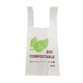 Plastikowa torba na koszulki 100% Biodegradowalny 48x60cm 25µm (100 Sztuk)