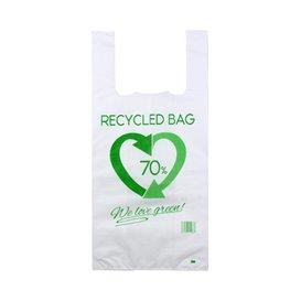 Plastikowa torba na koszulki 70% z Recyklingu 42x53cm 50µm (800 Sztuk)