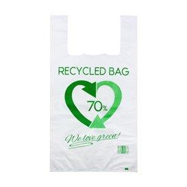 Plastikowa torba na koszulki 70% z Recyklingu 50x60cm 50µm (100 Sztuk)