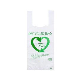 Plastikowa torba na koszulki 70% z Recyklingu 35x50cm 50µm (100 Sztuk)