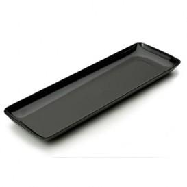 Tacki Plastikowe do Degustacji Czarni 6x19 cm (20 Sztuk)