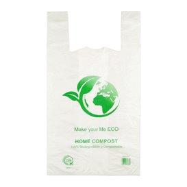 Reklamówki Plastikowe Zrywki 100% Biodegradowalny 55x60cm (100 Sztuk)