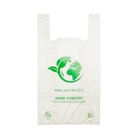 Reklamówki Plastikowe Zrywki 100% Biodegradowalny 50x55cm (100 Sztuk)