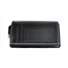 Pojemniki na Sushi Czarni 148x78 mm (10 Sztuk)