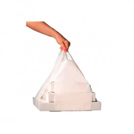 Reklamówki Plastikowe Zrywki Pudełka na Pizzę 50/26*60cm (1000 Sztuk)