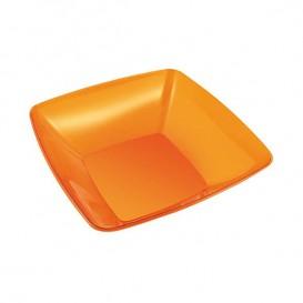 Miski PS Szkło Twardego Orange 480ml 14x14cm (4 Sztuk)