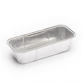 Pojemniki Aluminowe na Plum Cake 750 ml (100 Sztuk)