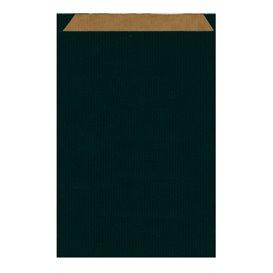 Koperty Papierowe Kraft Czarni 26+9x38cm (125 Sztuk)
