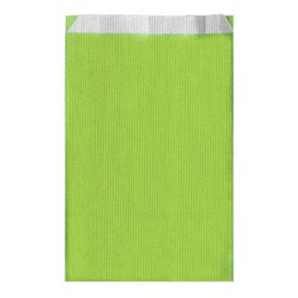 Koperty Papierowe Zielone Anyż 26+9x46cm (750 Sztuk)