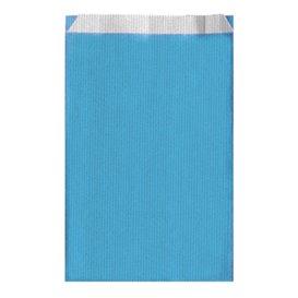 Koperty Papierowe Turkusowe 12+5x18cm (125 Sztuk)