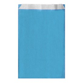 Koperty Papierowe Turkusowe 19+8x35cm (125 Sztuk)