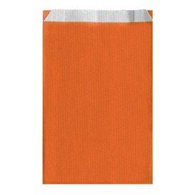 Koperty Papierowe Orange 19+8x35cm (125 Sztuk)