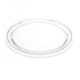 Pokrywka Plastikowe na Flan 127ml PVC (2250 Sztuk)