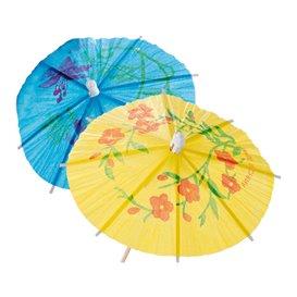 Dekoracje do Lodów Parasolki 15cm (100 Sztuk)