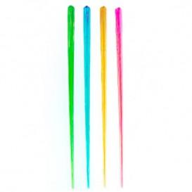 Mieszadełka do Napojów Plastikowe Fluorescencyjne 175mm (100 Sztuk)