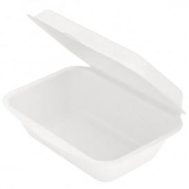 Opakowania MenuBox Trzciny Cukrowej Białe 136x182x64mm (50 Sztuk)