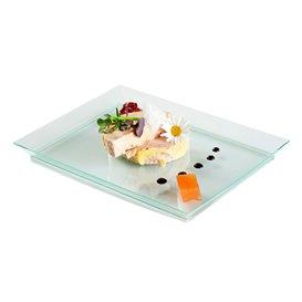 """Tacki Plastikowe Extra Sztywny """"Water Green"""" 13x18cm (80 Sztuk)"""