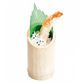 Bamboo Tasting Cup Truncated 5x9cm (10 Units)