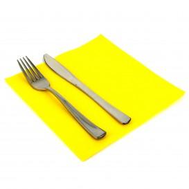 Serwetki Papierowe 40x40cm Żółty 2 Warstwi (50 Sztuk)