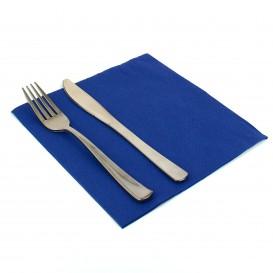 Serwetki Papierowe 40x40cm Niebieski 2 Warstwi (50 Sztuk)
