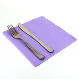 Paper Napkin Double Point Lilac 40x40cm (50 Units)