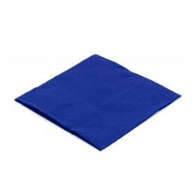 Serwetki Papierowe Koktajl 20x20cm Niebieski (100 Sztuk)